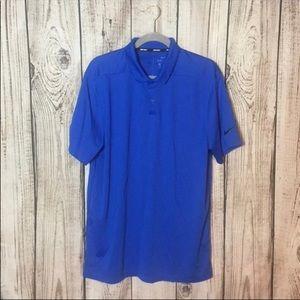 🌕4/$15🌕 Nike Golf Royal Blue Polo Shirt Large